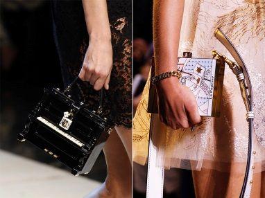 Миниатюрные сумки-чемоданы  Hermès