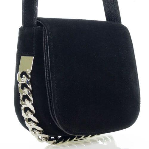Замшевая сумка Джэсна