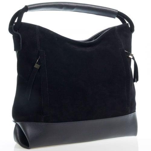 Замшевая сумка Люция