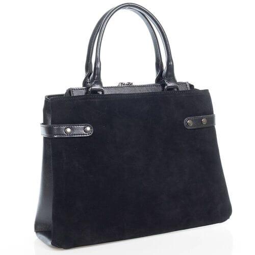 Замшевая сумка Дальмира