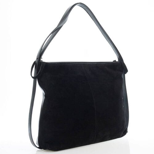 Замшевая сумка Афинея