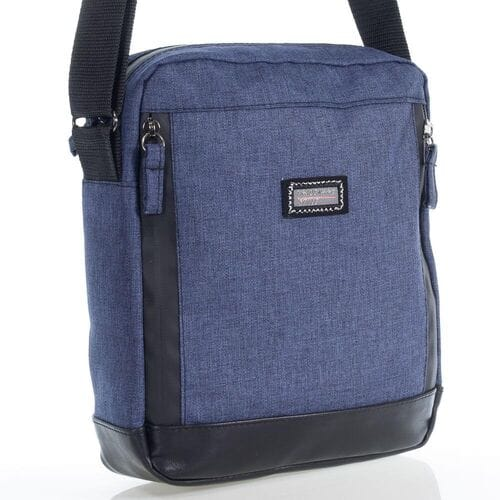 Тканевая мужская сумка на плечо