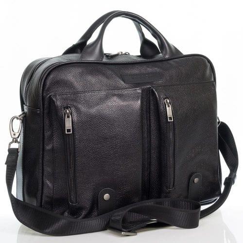 Кожаная сумка Клеман