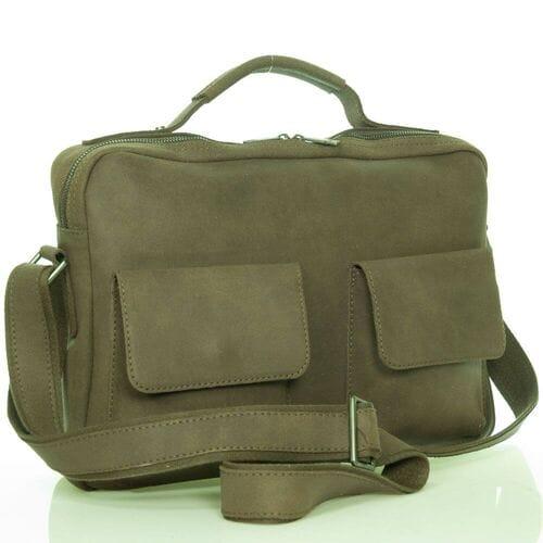 Кожаная сумка-портфель Иосиф