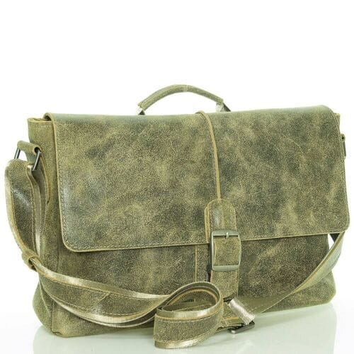 Кожаная сумка-портфель Эрмин