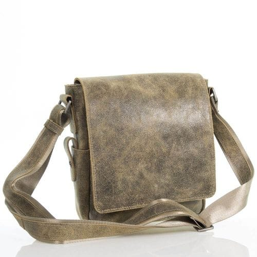 Мужская кожаная сумка Леон