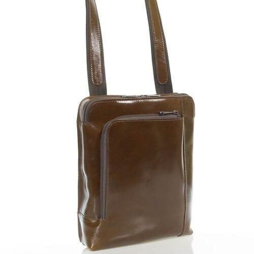 Кожаная сумка Тэмхас, на плечо