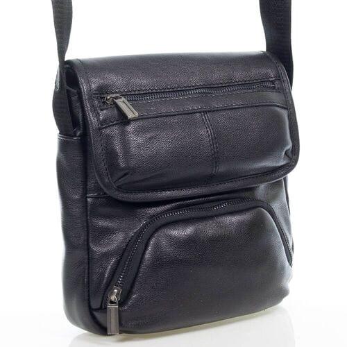Мужская кожаная сумка Евсий