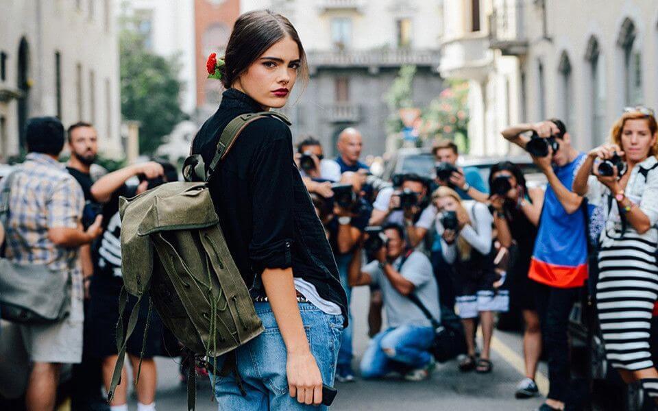 Модные женские городские рюкзаки