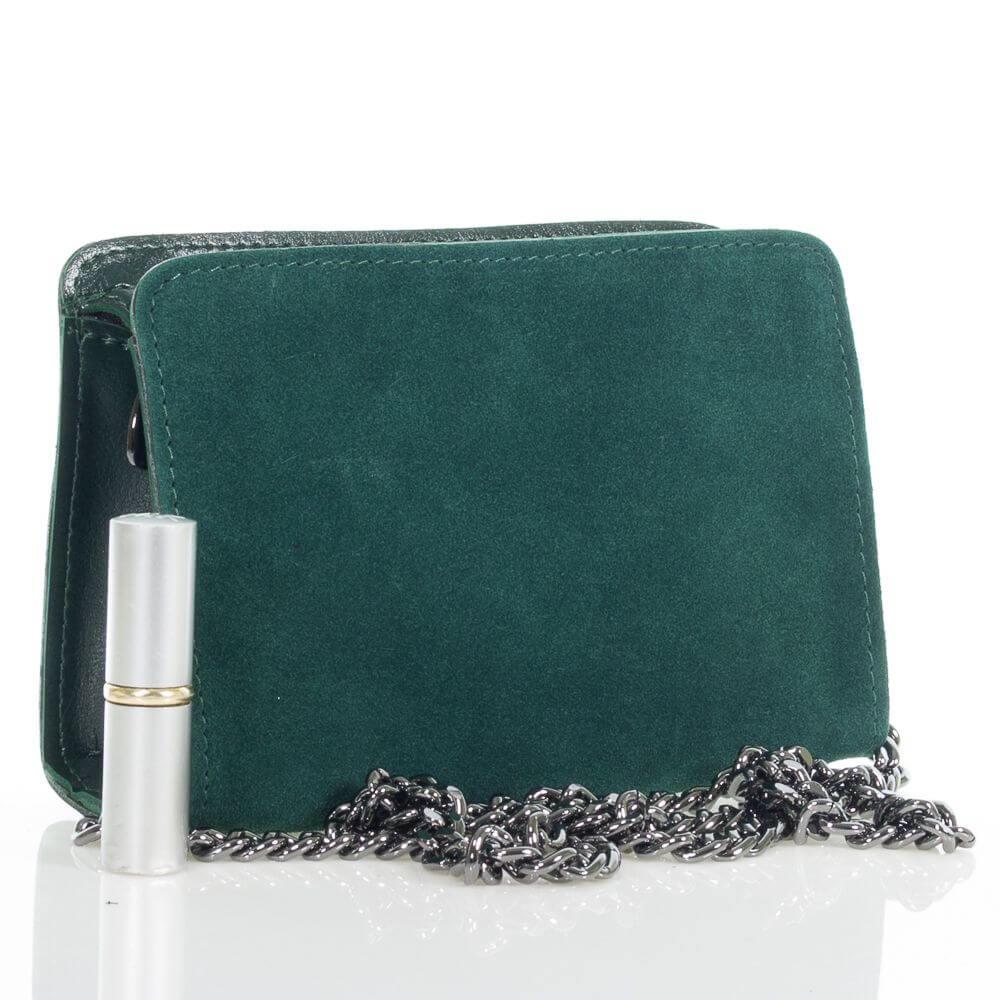 Женская сумочка Берта из натуральной замши
