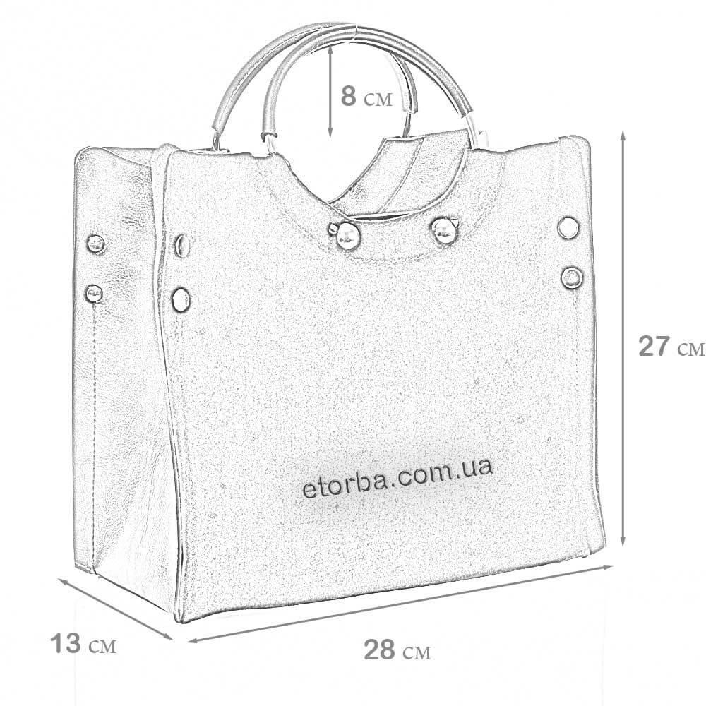 Женская замшевая сумка Мишель