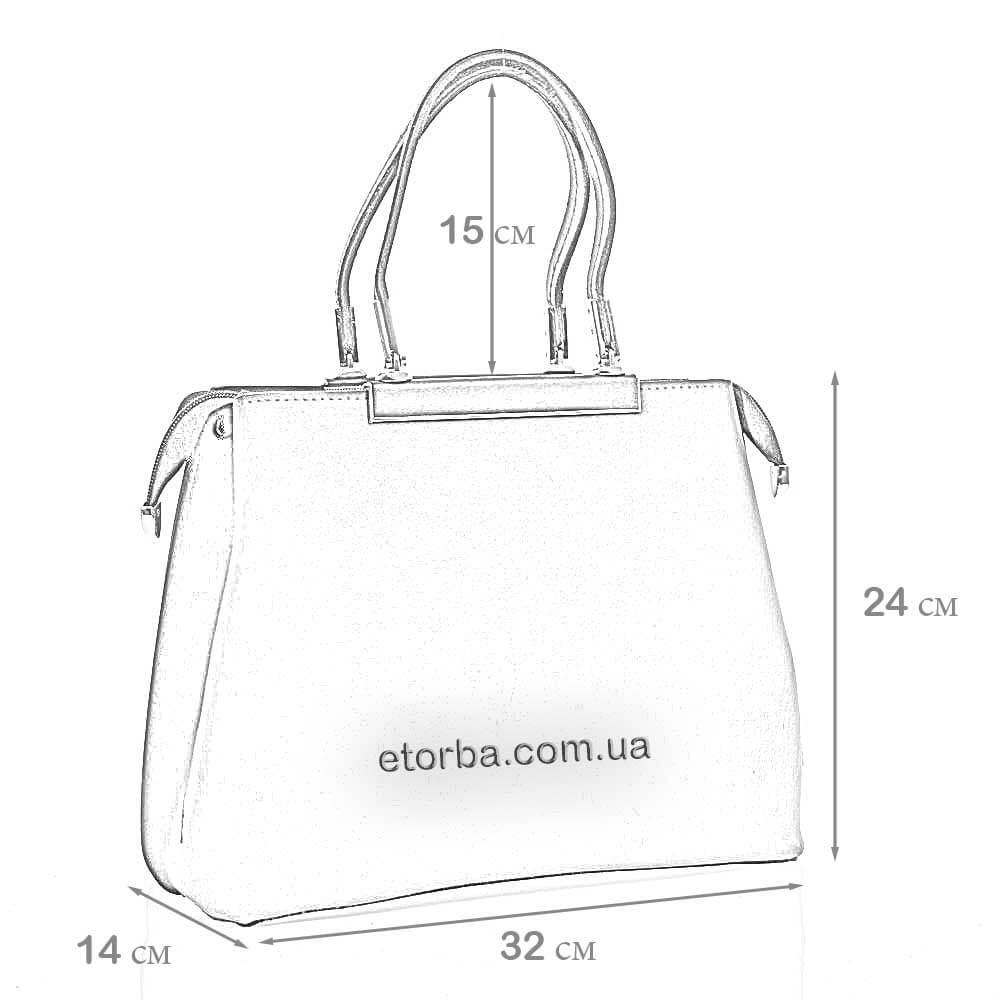 Женская кожаная сумка Ираида