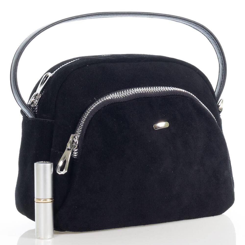 Замшевая женская сумочка на плечо Василина