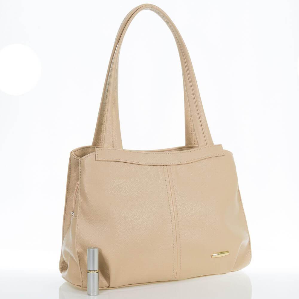 Женская сумка на три отделения Алиша из искусственной кожи