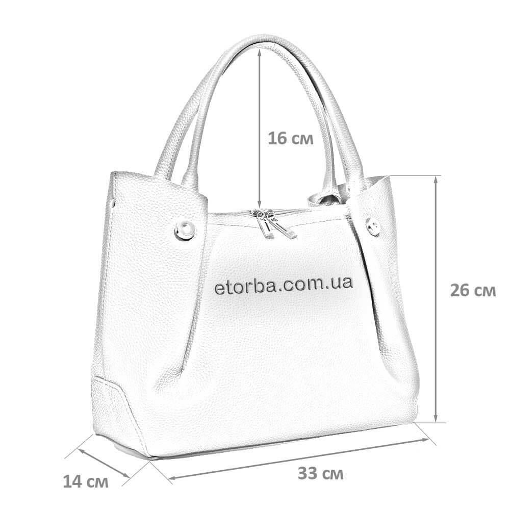 Женсквя сумочка Видан из искусственной кожи