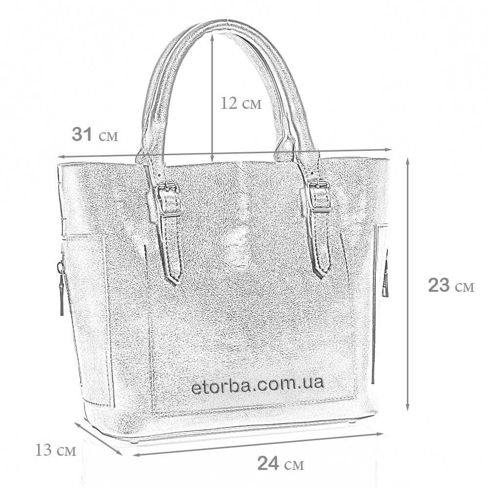 Женская сумка из эко кожи Властислава