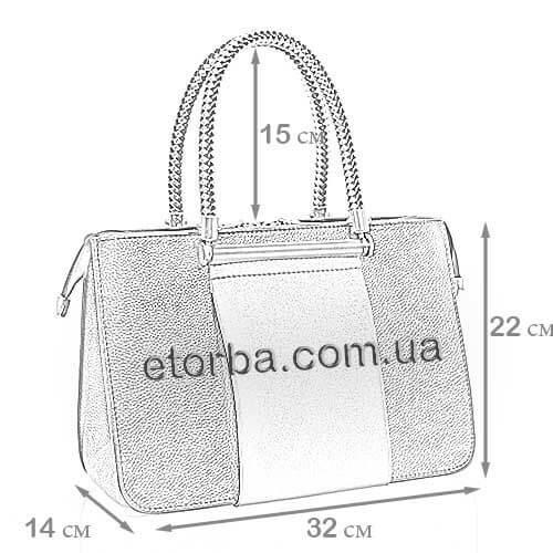 Женская сумочка Дезири из искусственной кожи