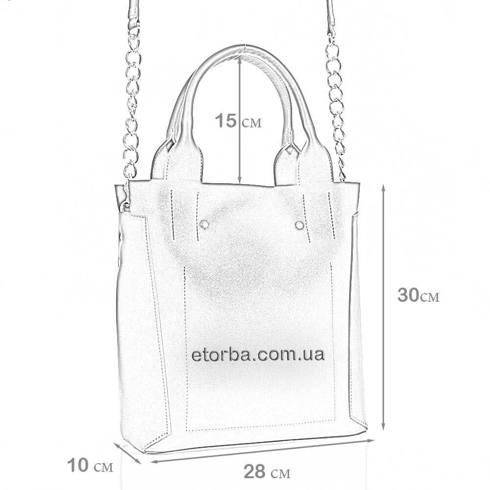 Женская сумка из эко кожи Купава