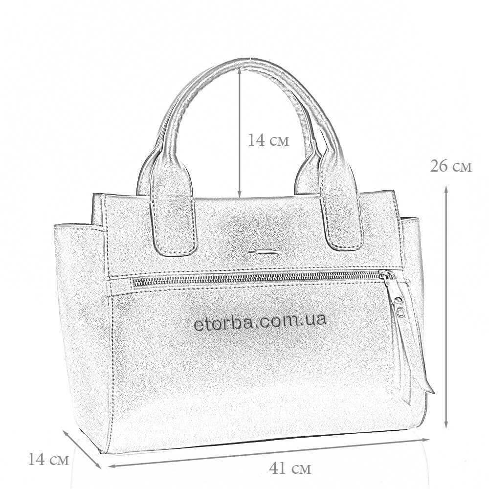 Женская сумка Верея из искусственной кожи