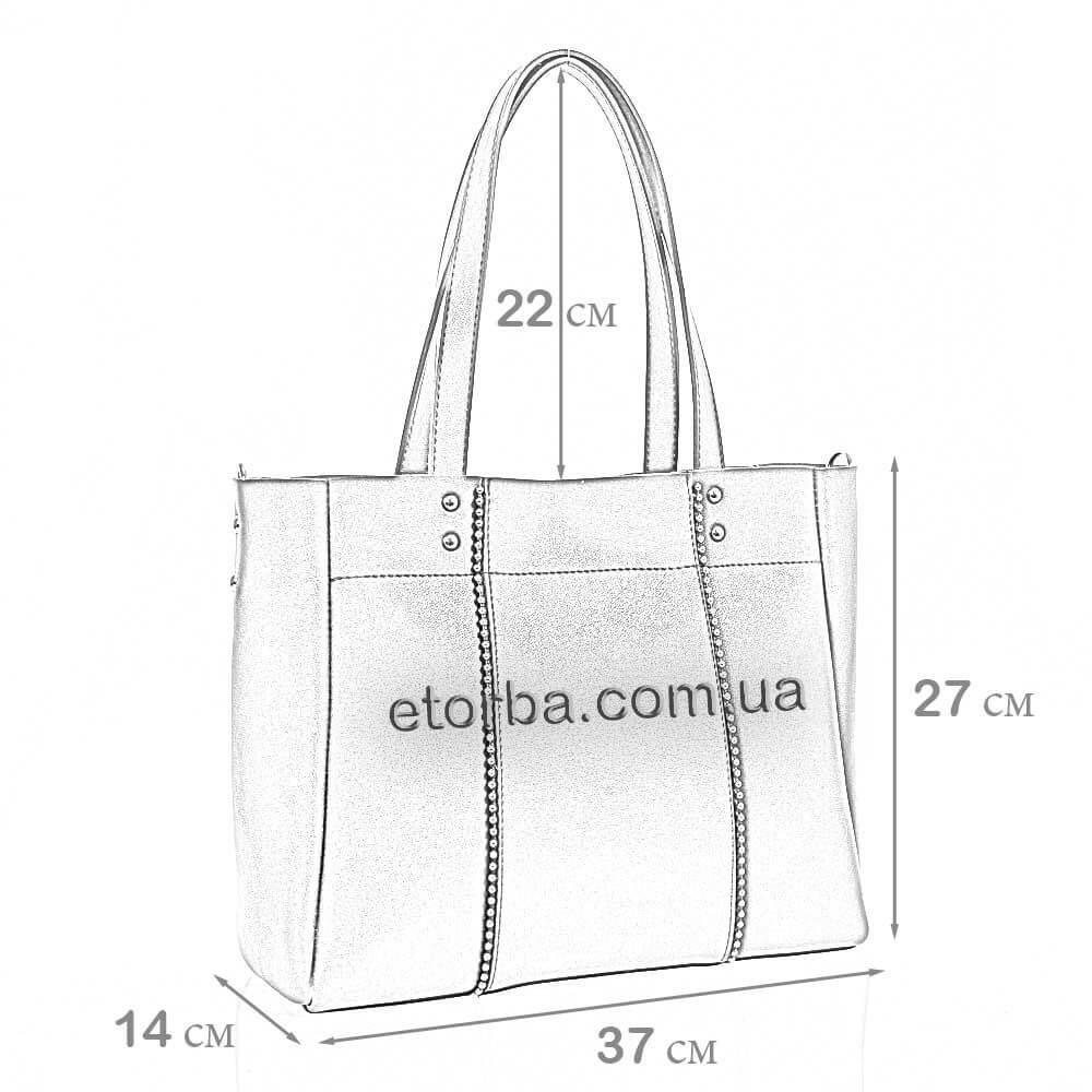 Женская сумка из эко кожи Евдокия