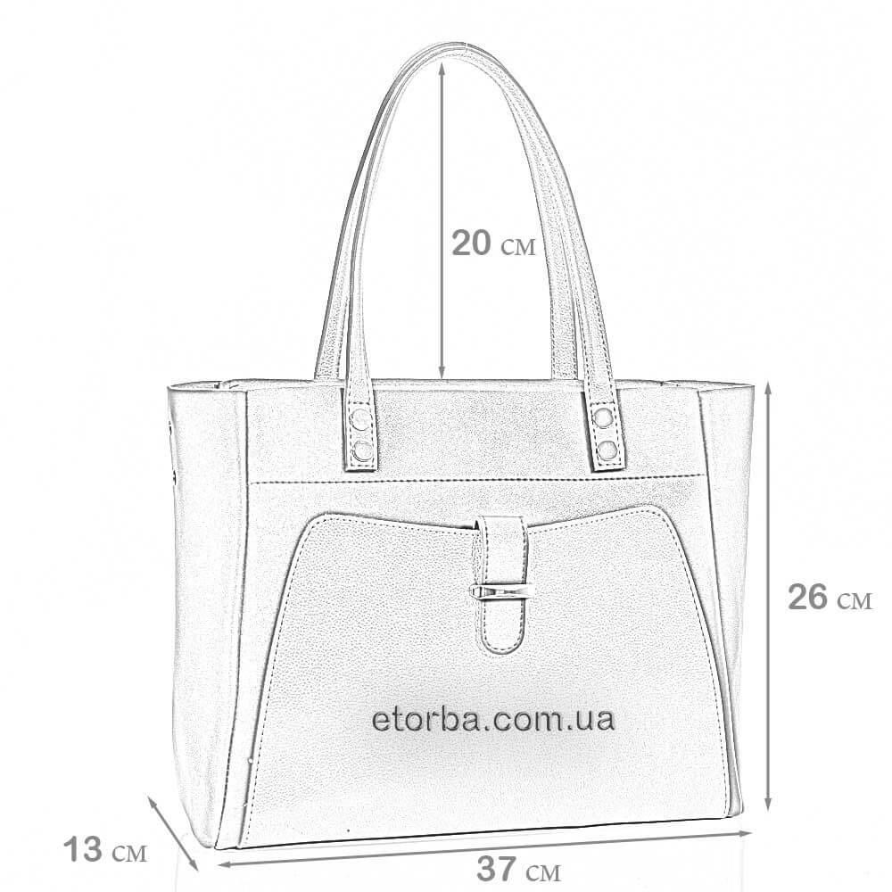 Женская сумка Ксантия из искусственной кожи