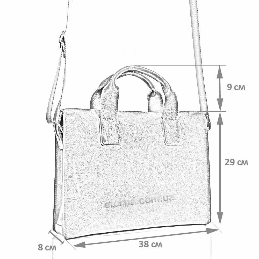 Размеры мужской сумки Анвар