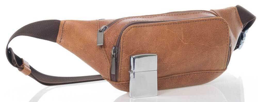Кожаная сумка Блэнч