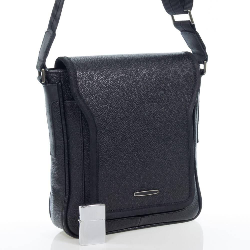 Мужская кожаная сумка Олексей