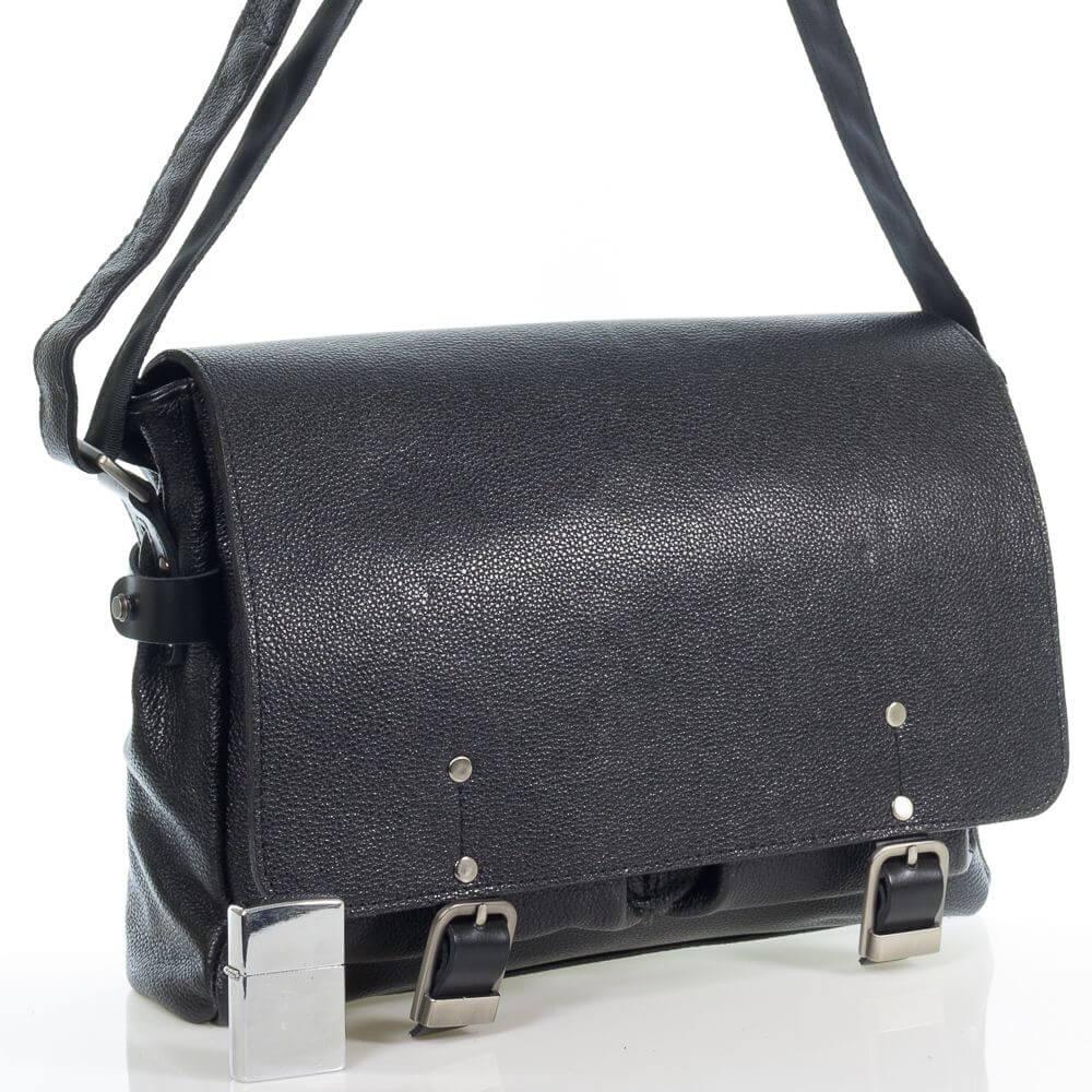 Кожаная сумка-портфель Дзено