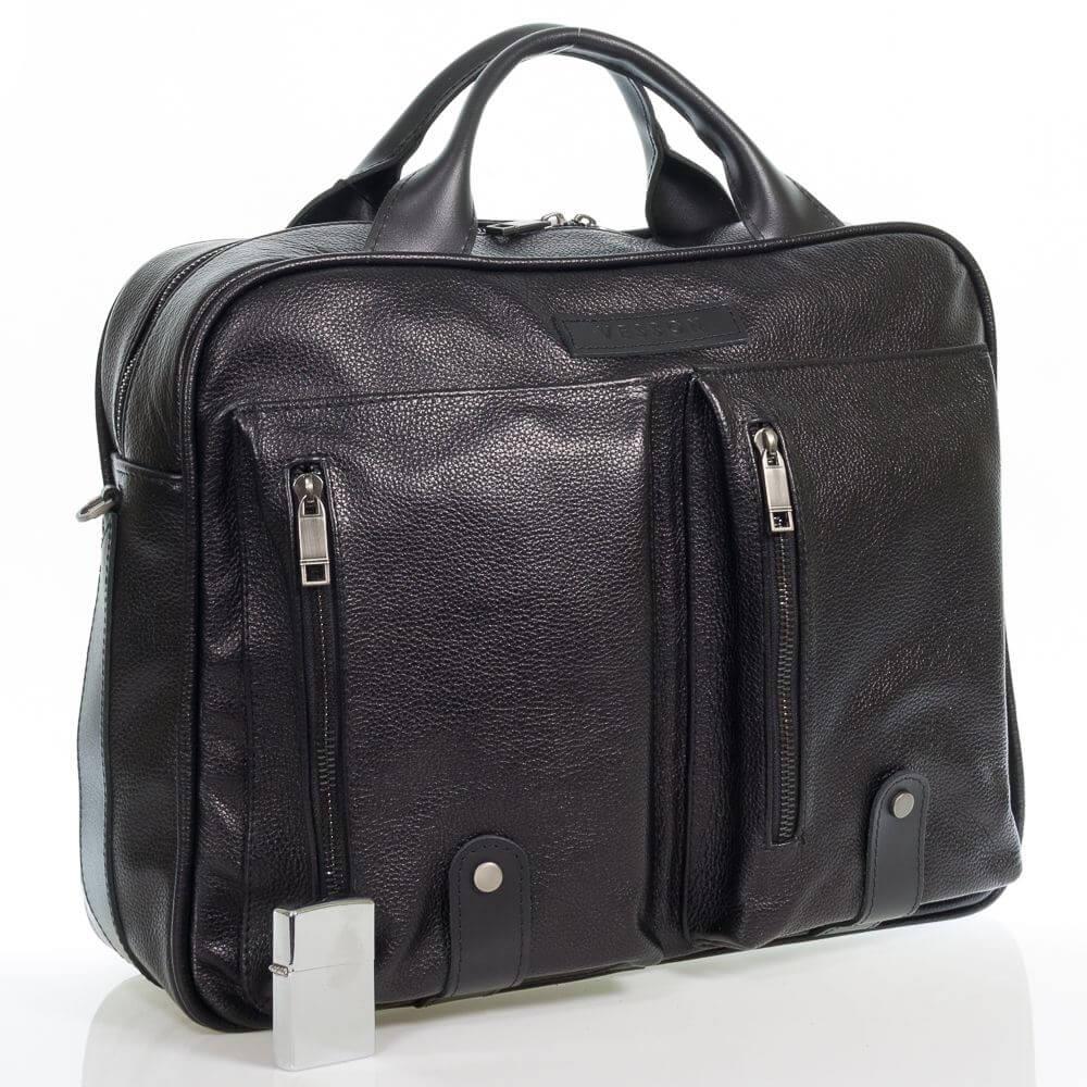 Мужская кожаная сумка Клеман
