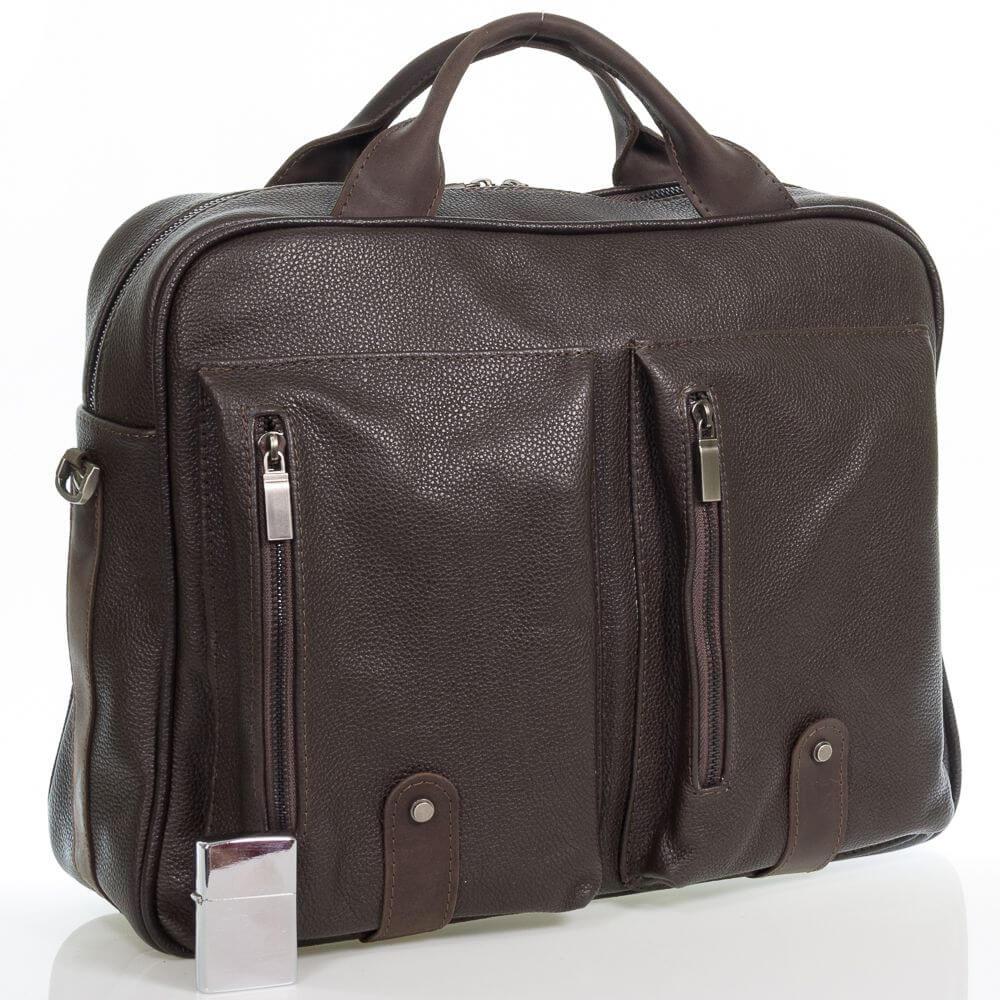 Мужская кожаная сумка Говард