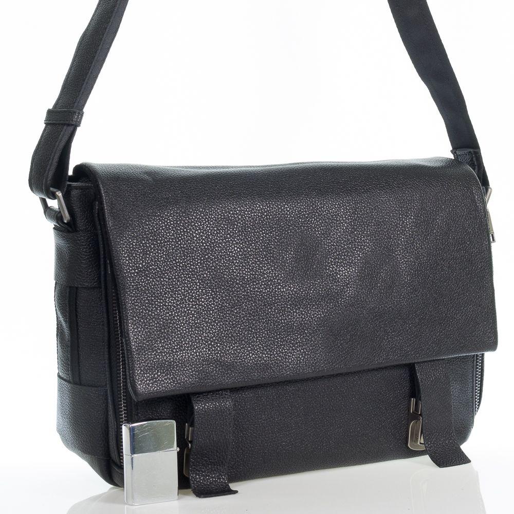 Мужская сумка-портфель из натуральной кожи Флечер