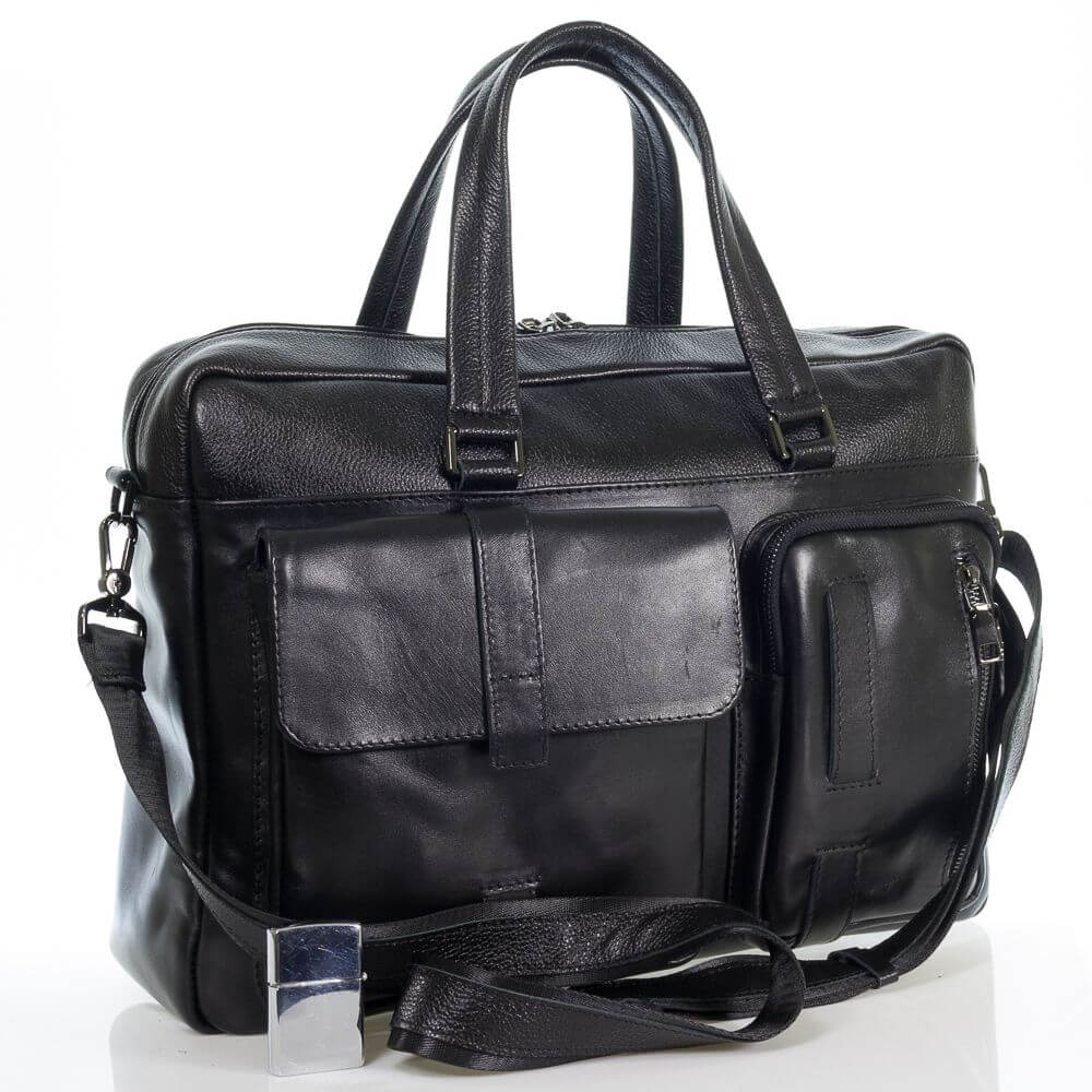 Мужская кожаная сумка Владомир