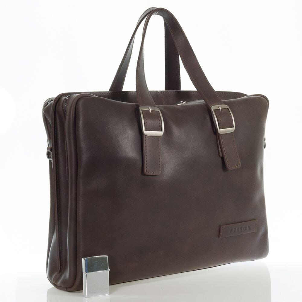 Мужской кожаный портфель сумка Тамаз