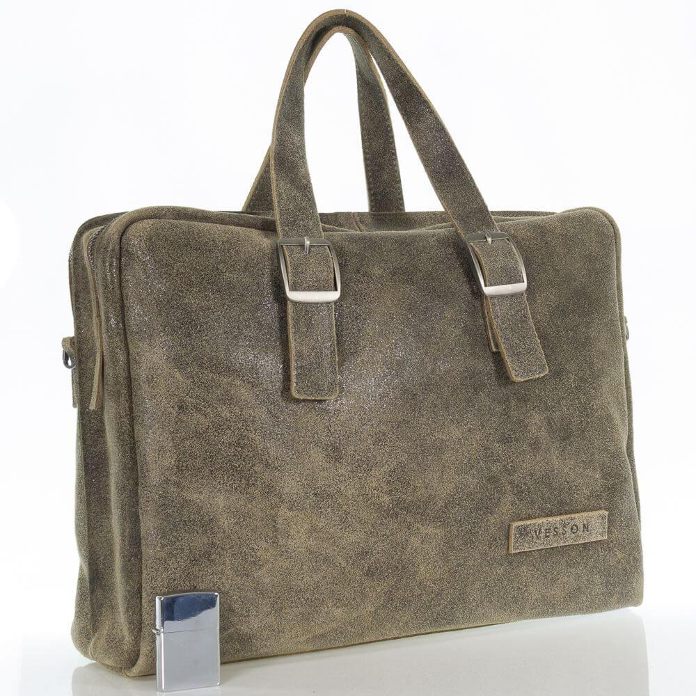 Мужской кожаный портфель сумка Панкрат