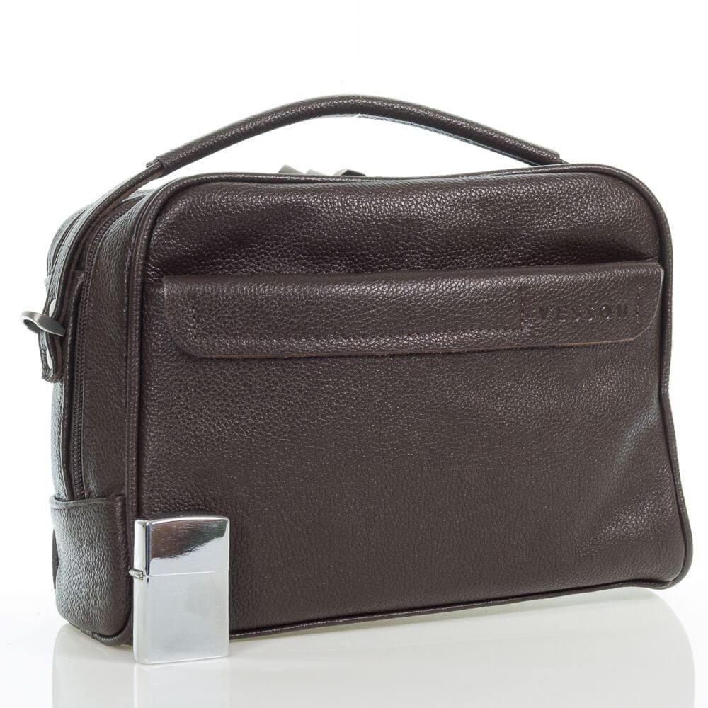 Мужская кожаная сумка Антан