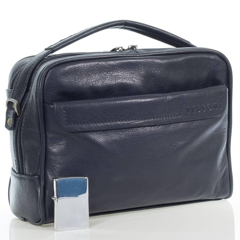 Мужская кожаная сумка Аугусто