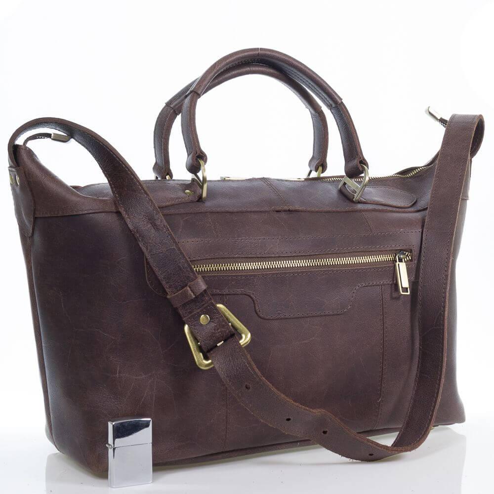 Кожаная дорожная сумка Мармарис