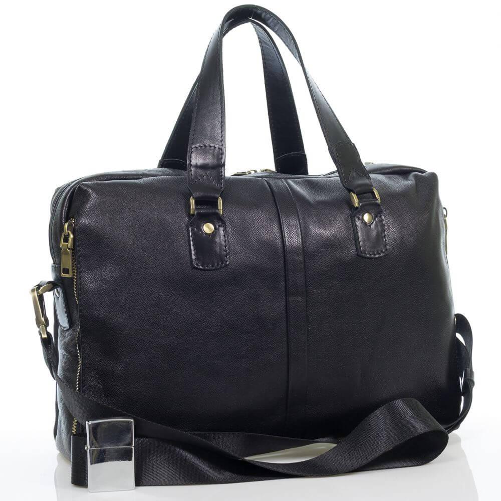 Мужская кожаная сумка Джерасим