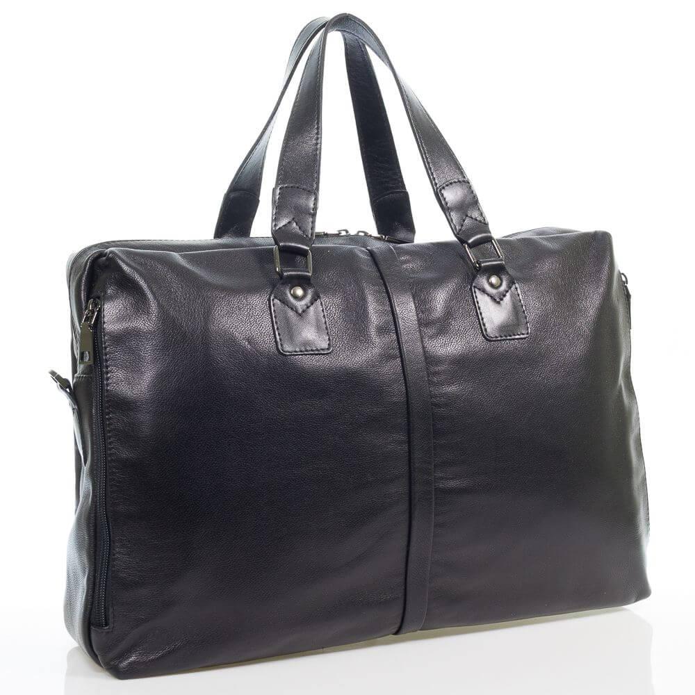 Мужская кожаная сумка Макариос