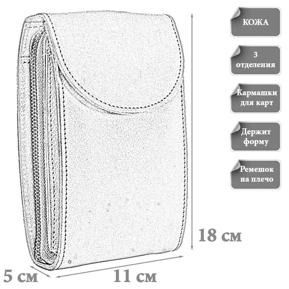 Размеры мудской сумки Линдон