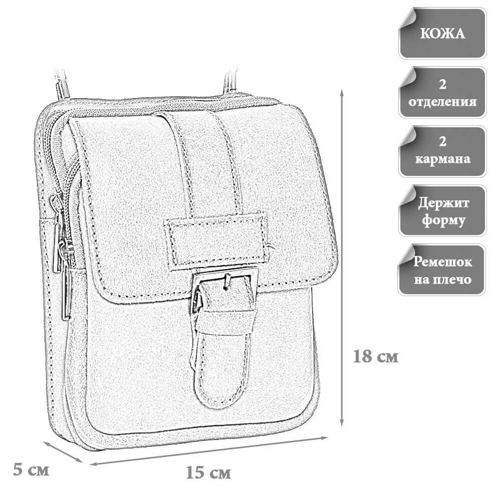 Размеры мудской сумки Бэйли