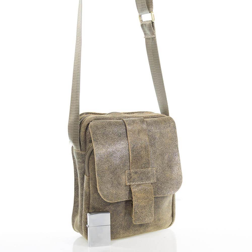 Мужская кожаная сумка Ифрем