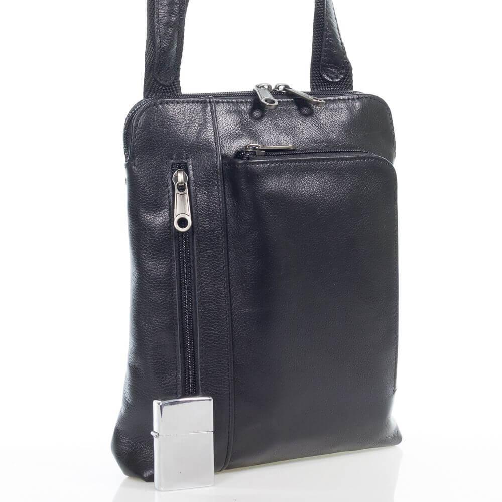 Мужская кожаная сумка Ботьо