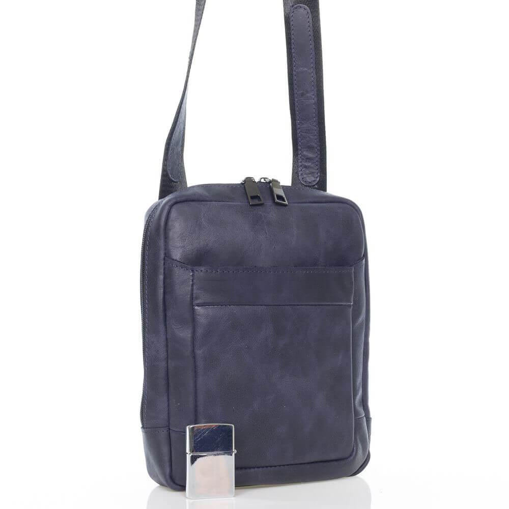 Мужская кожаная сумка Тимоти