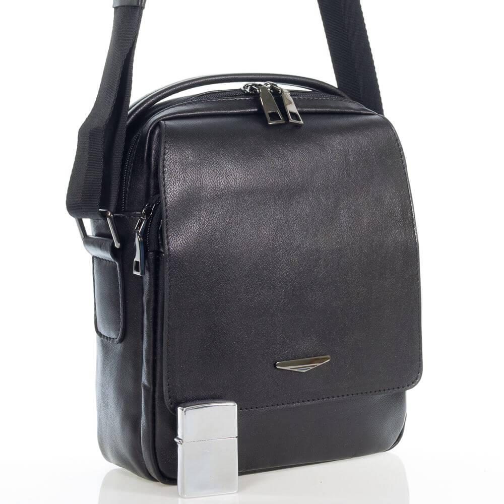 Мужская кожаная сумка Болад