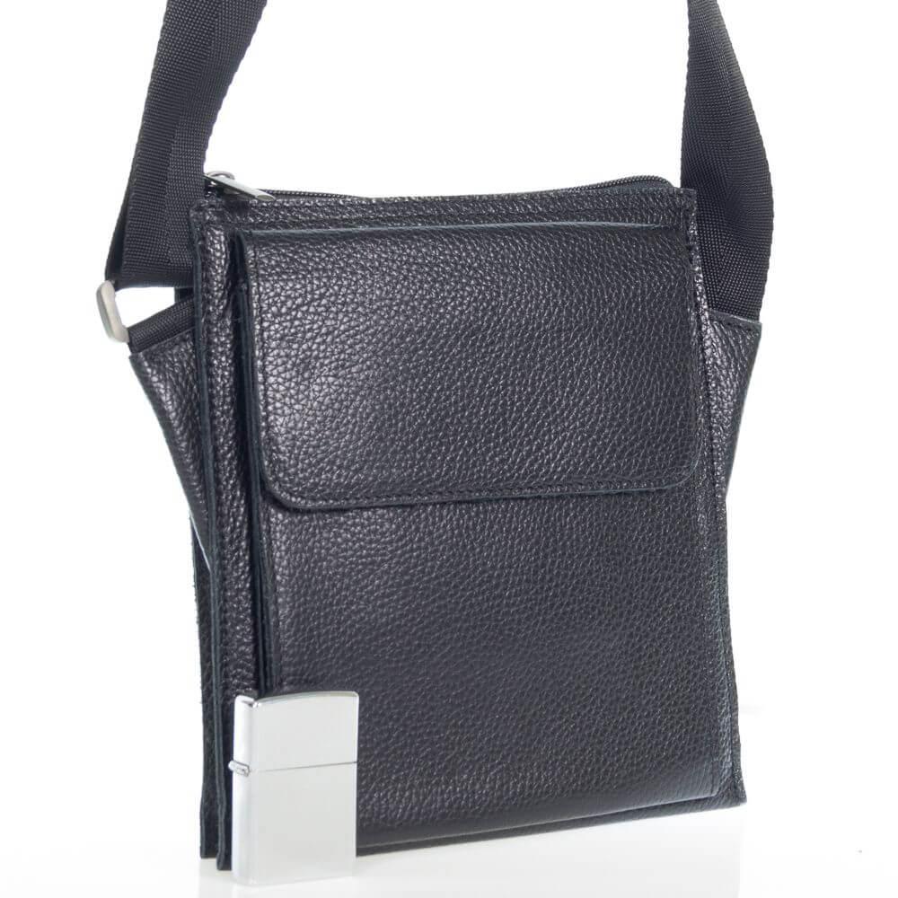 Мужская кожаная сумка Ярош