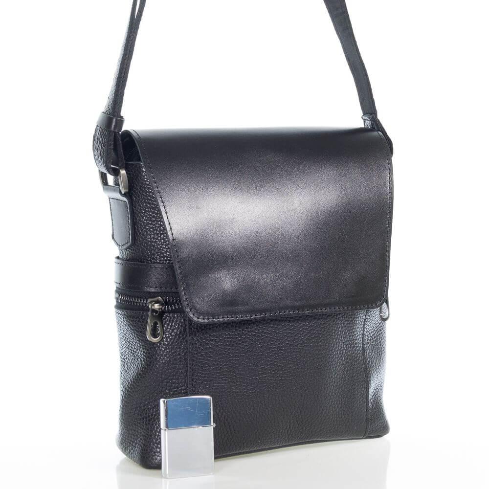 Мужская кожаная сумка Данко